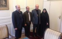 دیدار اعضای انجمن دفاع از قربانیان تروریسم با اسقف اعظم شهر ژنو