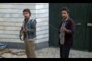 باز سازی صحنه ترور شهید عشرت اسکندری