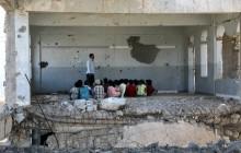 کودکان یمنی در کلاس درس – 2019