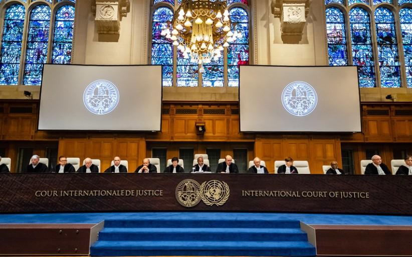 برزخ بی کیفری: نامه انجمن به دیوان بین المللی دادگستری
