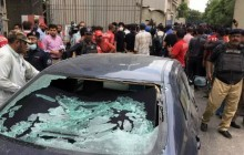 محکومیت حمله به بورس کراچی از سوی انجمن دفاع از قربانیان تروریسم