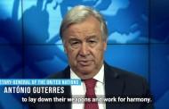 پیام آنتونیو گوترش به مناسبت روز جهانی صلح