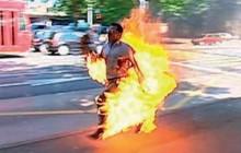 سوزاندن انسانها وجه مشترک منافقین و داعش