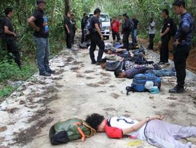 دستگیری 12 نفر در مالزی به اتهام تلاش برای انجام عملیات تروریستی