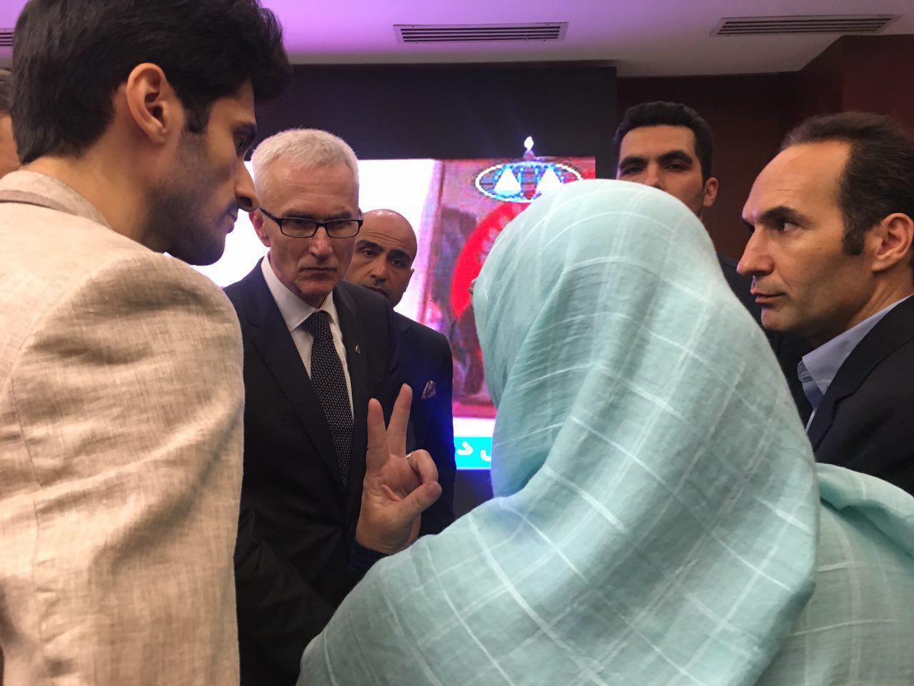 رایزنی قربانیان ترور ایران در اجلاس بین المللی اینترپل در تهران