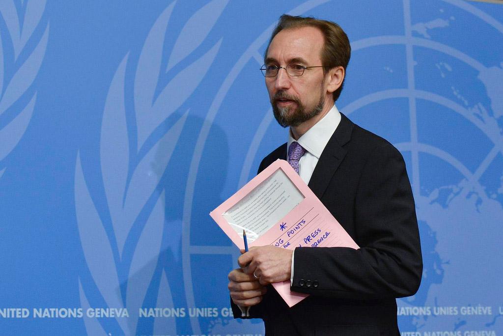 زید رعد الحسین، کمیسر عالی شورای حقوق بشر سازمان ملل متحد در سی و ششمین نشست شورای حقوق بشر :حملات هوایی نیروهای ائتلاف به رهبری عربستان، عامل اصلی کشتار غیرنظامیان، به ویژه  کودکان در یمن است