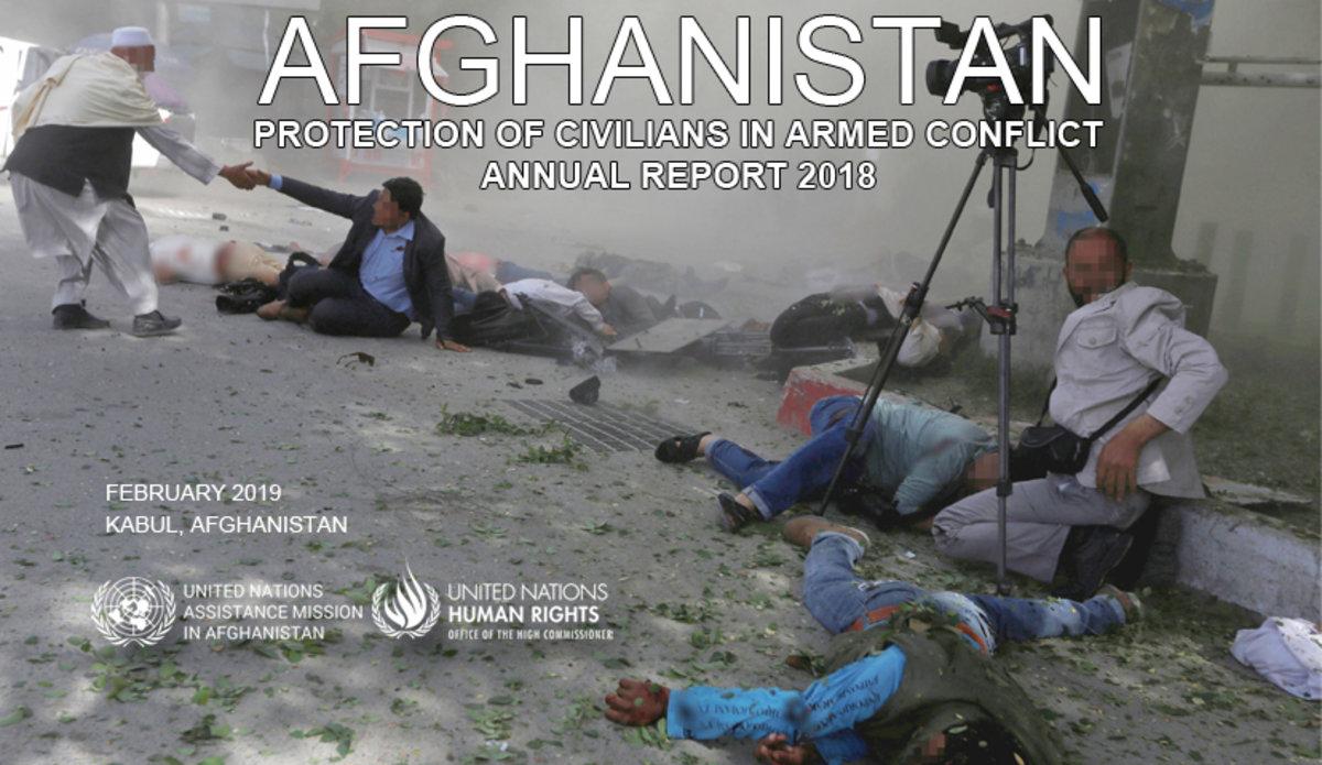 دفتر سازمان ملل در افغانستان: بالاترین کشتار انسانی در سال 2018