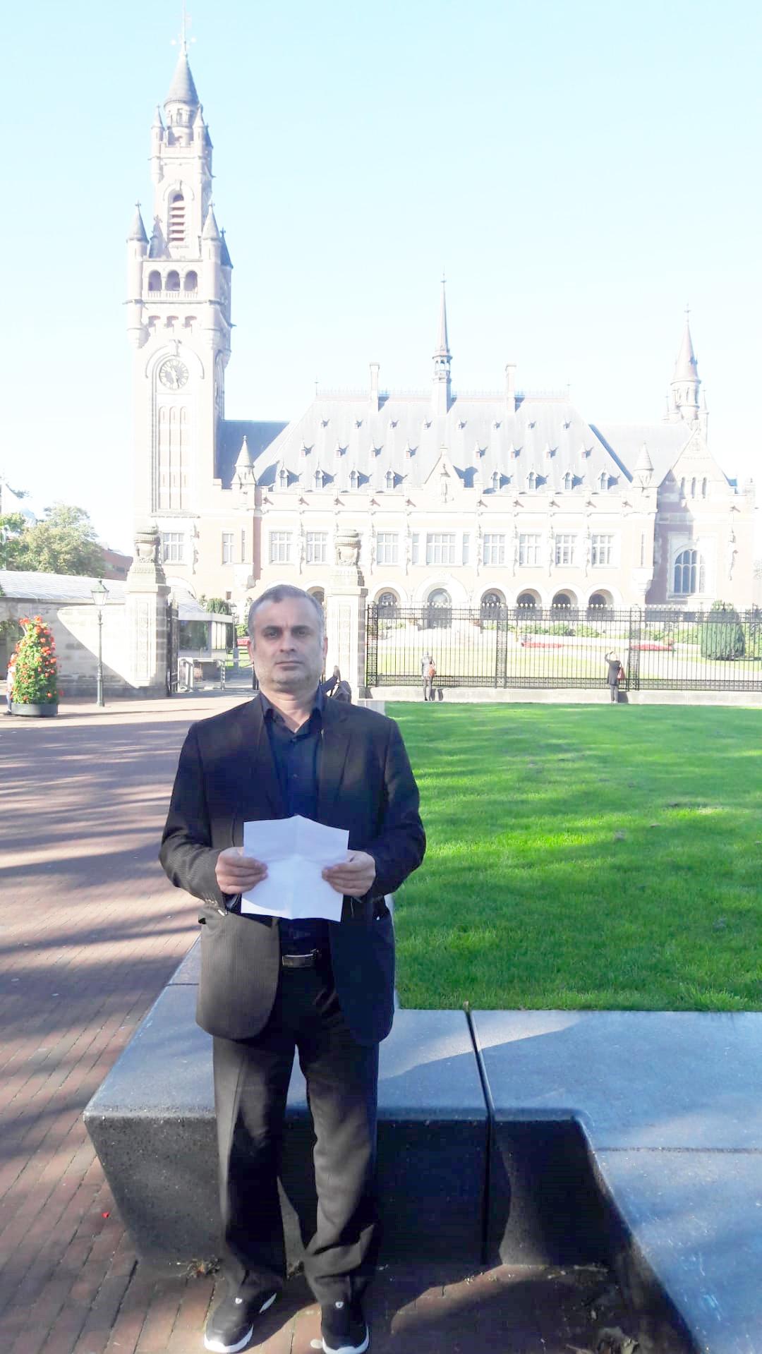 خانواده شهدای ترور ایران - کاخ صلح هلند 1398