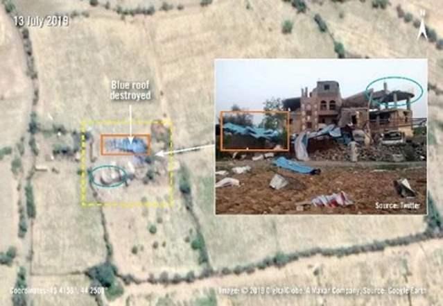 استفاده از بمب های کشنده امریکایی در حمله علیه غیرنظامیان