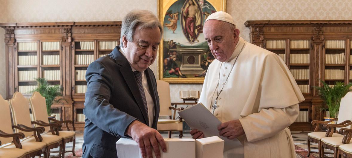 پاپ: به گفتگوی میان ملتها اعتماد کنید
