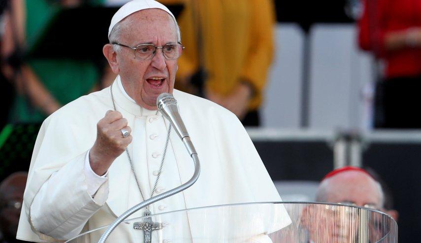 پاپ فرانسیس: تقویت زرادخانه های تسلیحاتی با وجود همه گیری کرونا امری شرم آور است