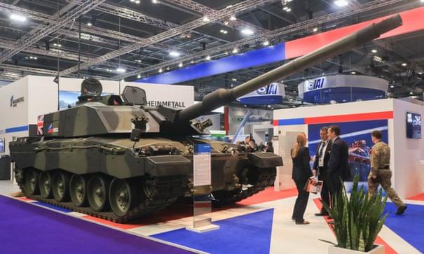 هفده میلیارد پوند فروش تسلیحات بریتانیایی به ناقضان حقوق بشر