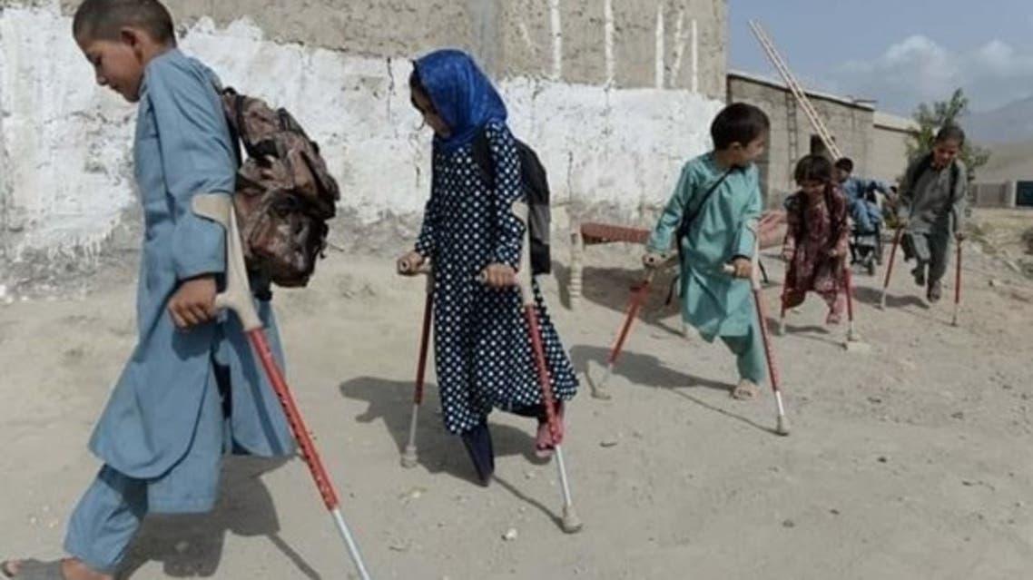 در ۲۰ سال گذشته بیش از 33 هزار کودک در افغانستان کشته و یا معلول شده اند